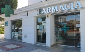 Fachada de la Farmacia La Barrosa